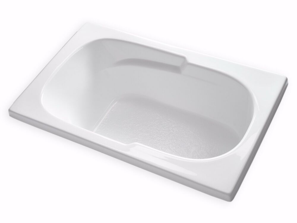 Carver tubs ar6036 36 x 60 drop in acrylic soaking for Acrylic soaker tub