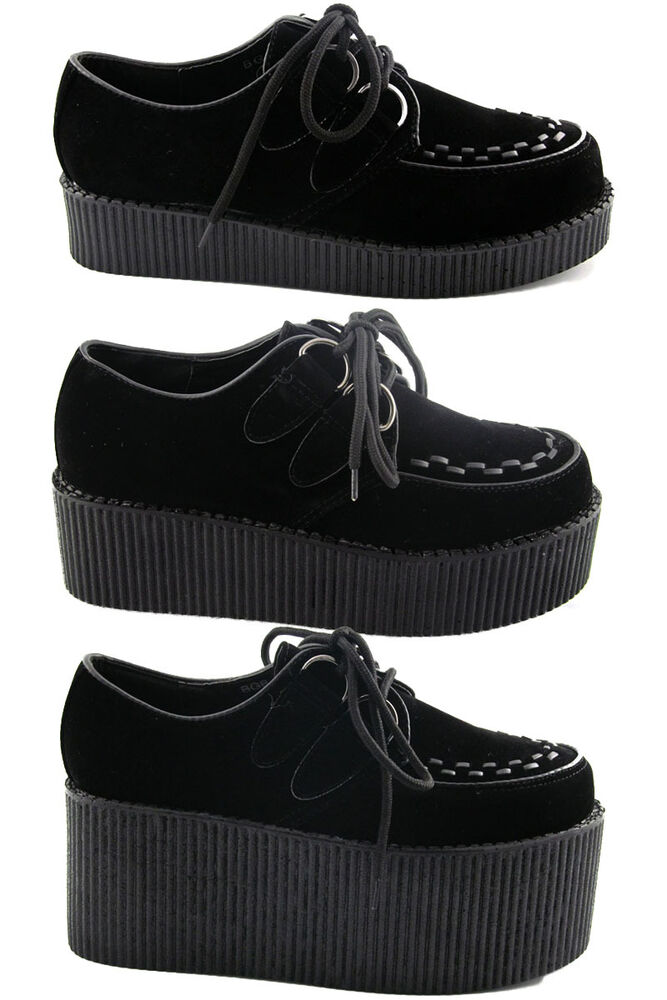 Shop Original T.U.K. Creepers for Women - Velvet Creepers, Pointed Toe Creepers, Slip-On Creepers, Platform Creepers, Creeper Boots, Maryjane Creepers & More Available in Vegan Friendly Material But Also Real Leather & Suede. Get Our Punk, Rock and Goth Creeper Platforms & Boots for Everyday Wear, EDM, Raves, Concerts, Festivals & More.
