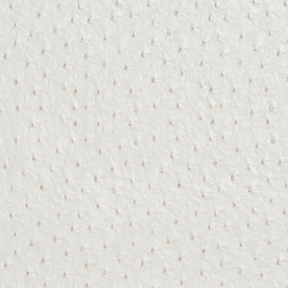 G017 white emu ostrich faux leather upholstery vinyl by for Fake leather upholstery