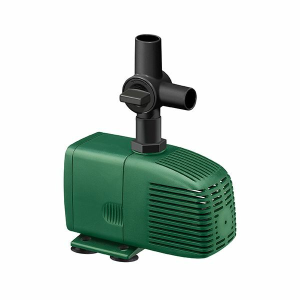 Fish mate 1200 garden pond pump for water fountain and for Garden pond pump filters