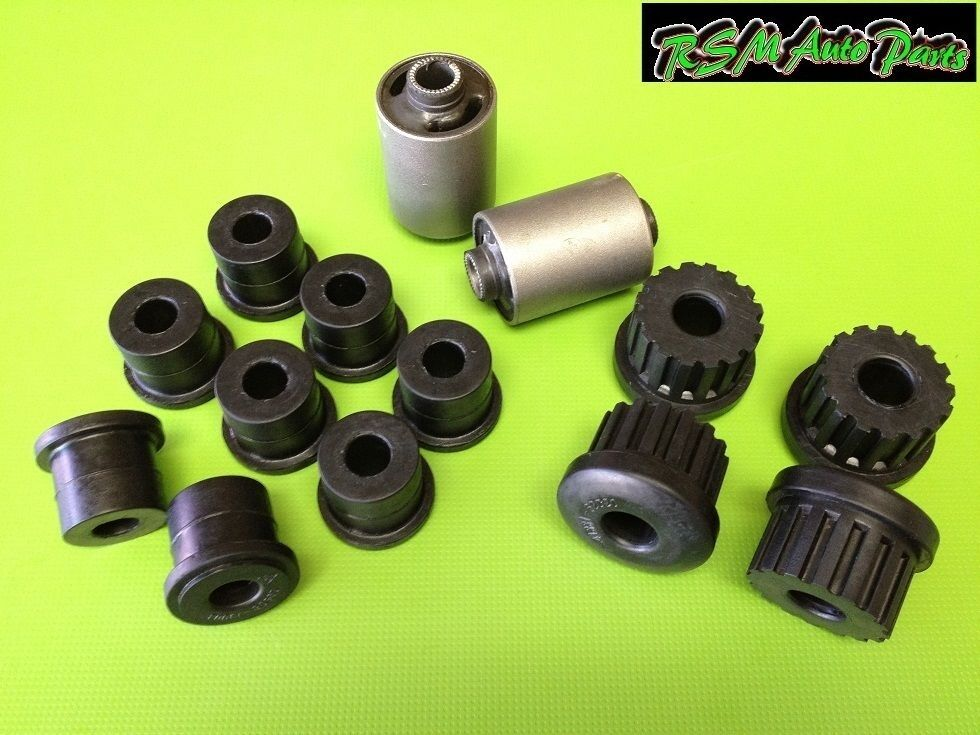 Front Amp Rear Leaf Spring Bushings Set Suzuki Samurai 86 95