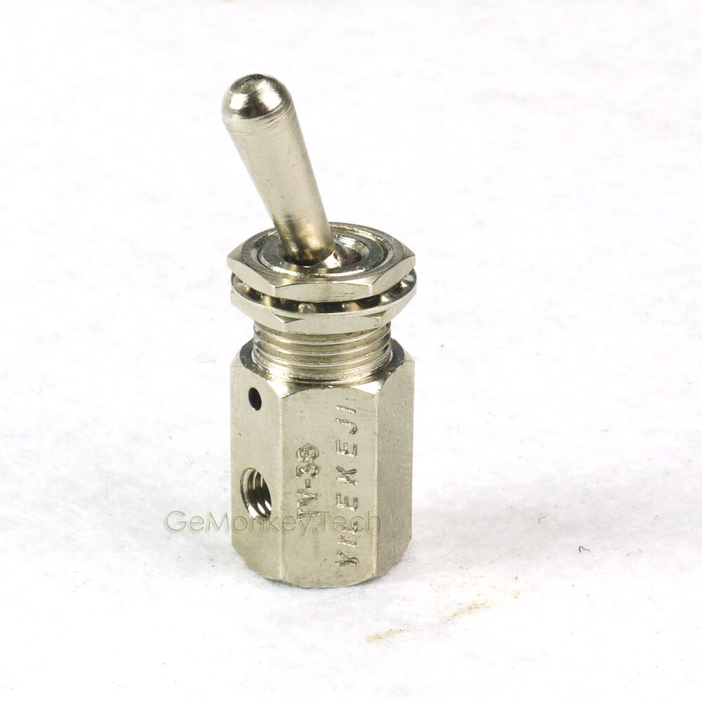 Air Toggle Switch : Air pneumatic position way on off switch knob toggle