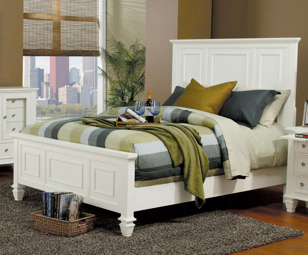 Classic bedroom set king queen size bed master bedroom for Bed set queen furniture