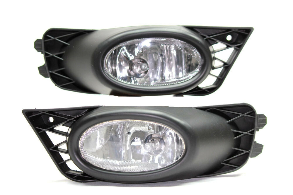 2009 2011 Honda Civic Fb 4 Door Jdm Clear Fog Light Kit Ex