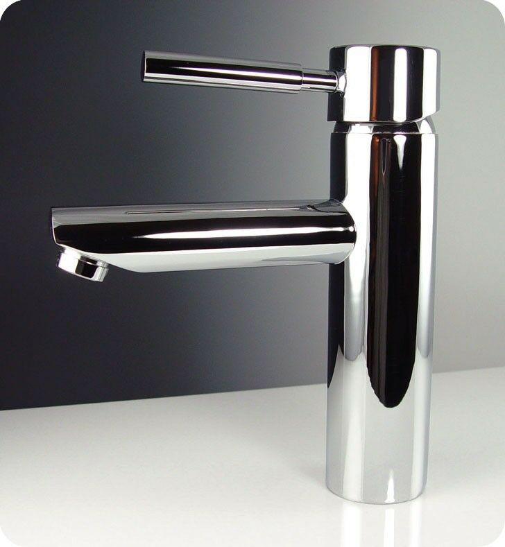 chrome bathroom cabinet fresca tartaro single mount bathroom vanity faucet 13580