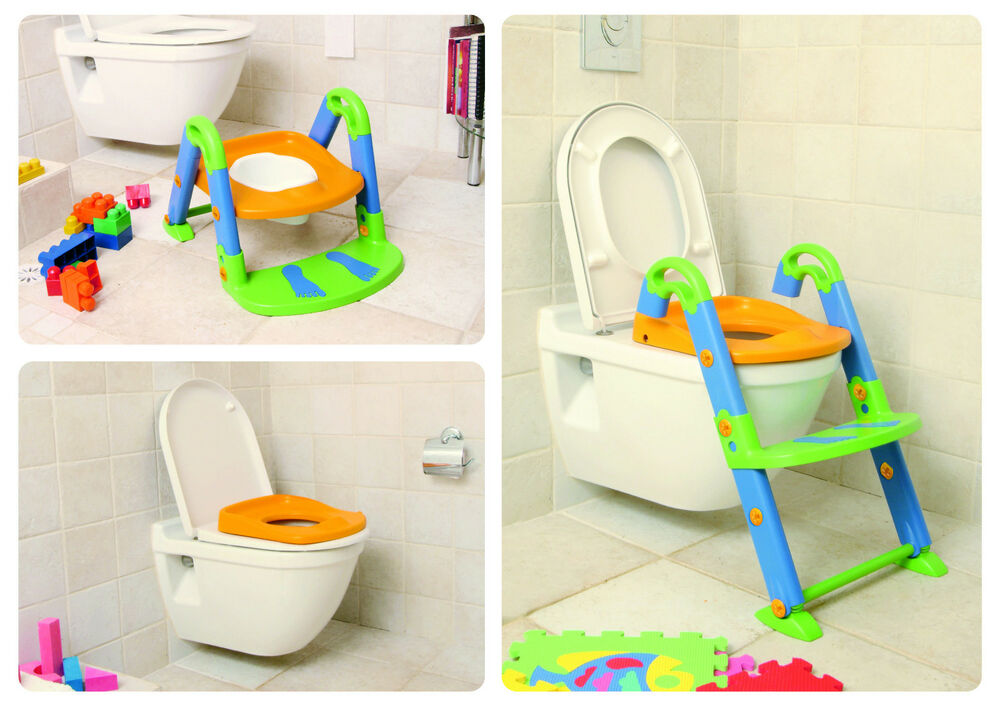 Toilet Trainer Chair Seat Kids Kit Toddler Potty Child