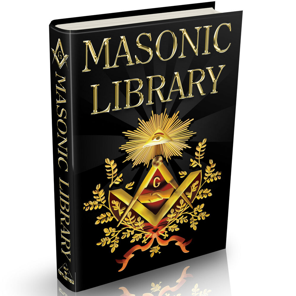ultimate masonic library massive 1834 books on dvd