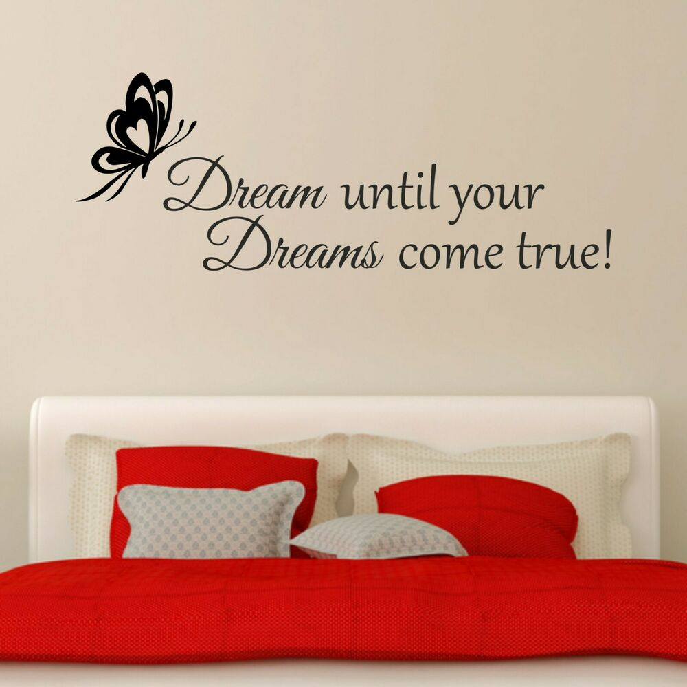 Don 39 t dream your life live your dreams inspirational quote for Bedroom inspiration quotes