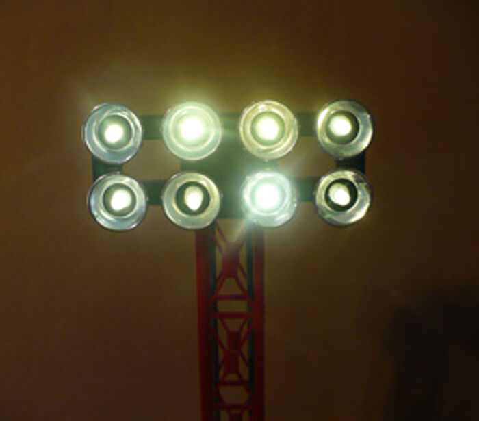 Details about    Warm White LED Lamp Replacement kit, (bulbs) - Lionel Lighted Station Platforms