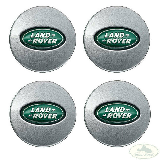 LAND ROVER RIM WHEEL CENTER CAP COVER SET X4 LR2 LR4 RANGE