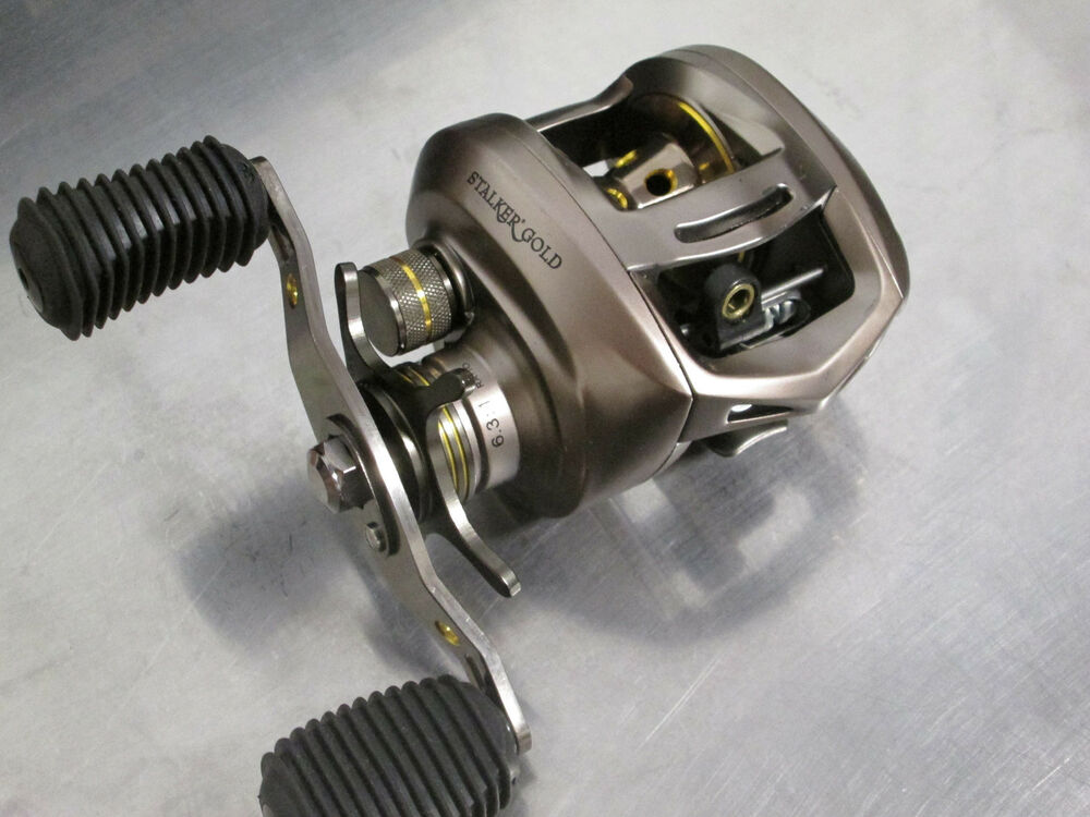 Browning stalker gold stg10ha 6 3 1 rh high speed limited for Browning fishing reels