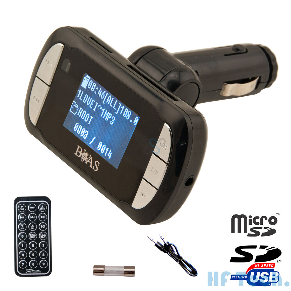 fm transmitter mp3 player 290a kfz auto radio sender micro. Black Bedroom Furniture Sets. Home Design Ideas