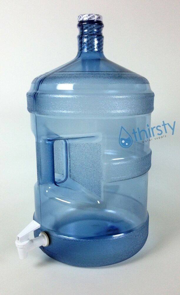 5 Gallon Polycarbonate Reusable Water Bottle With Spigot