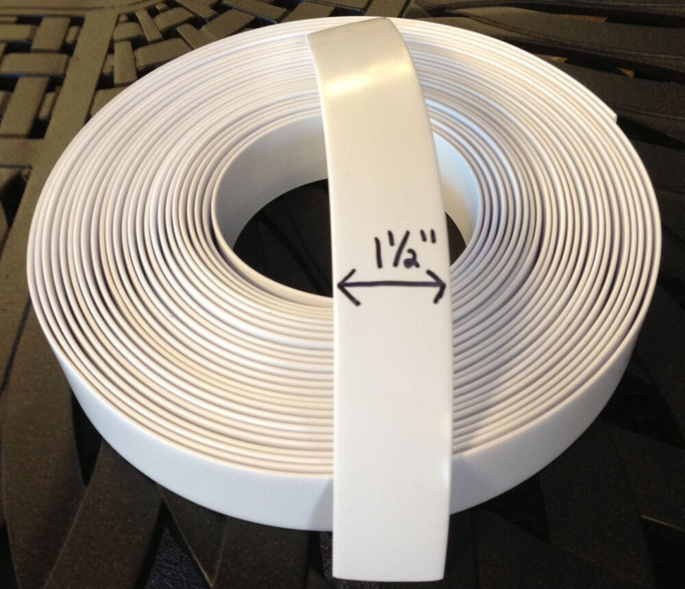 """1 1/2"""" Vinyl Strapping For Patio Furniture Repair 45' Roll"""