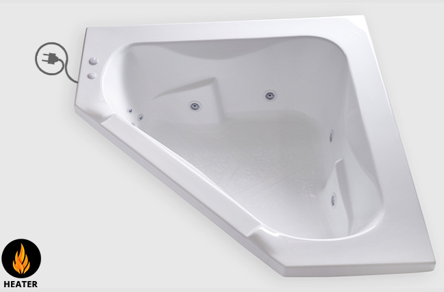 Carver Tubs Ct6060 60 Quot X 60 Quot Corner Whirlpool Bathtub W