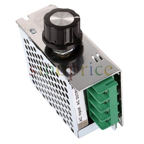 4000w 220v ac scr voltage regulator dimmer electric motor Speed control for ac motor