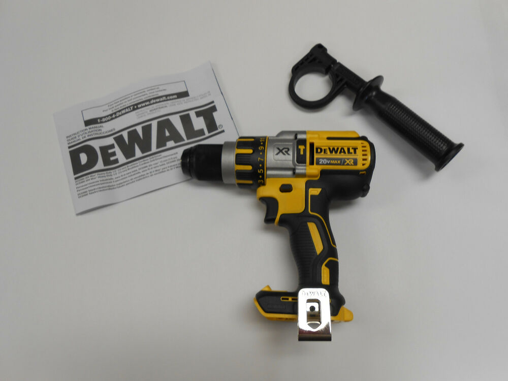 "NEW DeWALT DCD995B 20V Li-Ion 1/2"" Brushless Cordless ..."