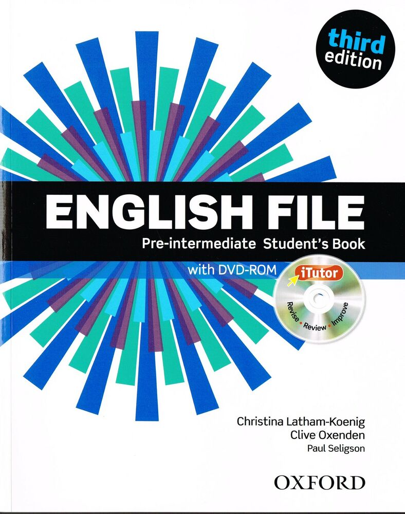 English file pre intermediate third edition students book w itutor english file pre intermediate third edition students book w itutor dvd rom new ebay fandeluxe Image collections