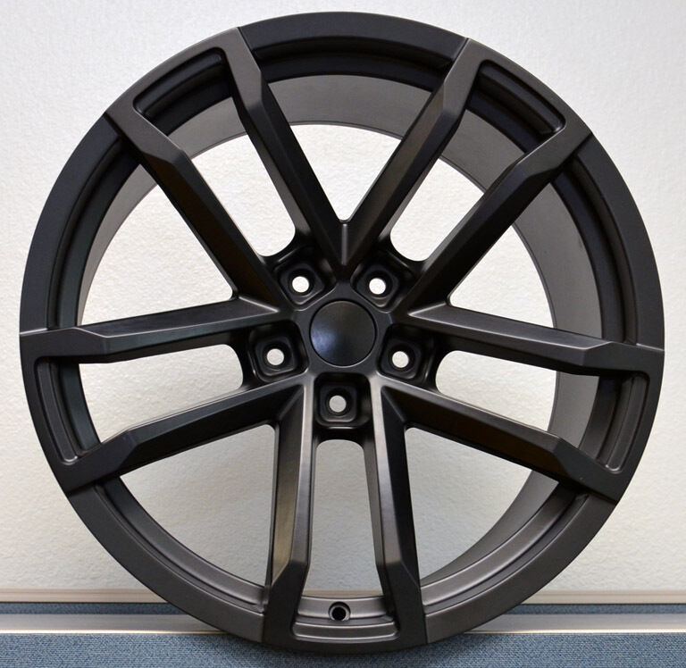 5th Gen Camaro Zl1 Ss Satin Balck 20 Quot X8 20x9 Wheel Rim 10