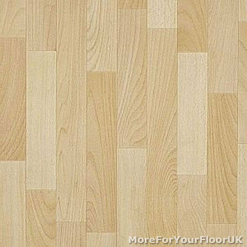 Soft oak wood style vinyl flooring slip resistant lino for Lino flooring wood effect