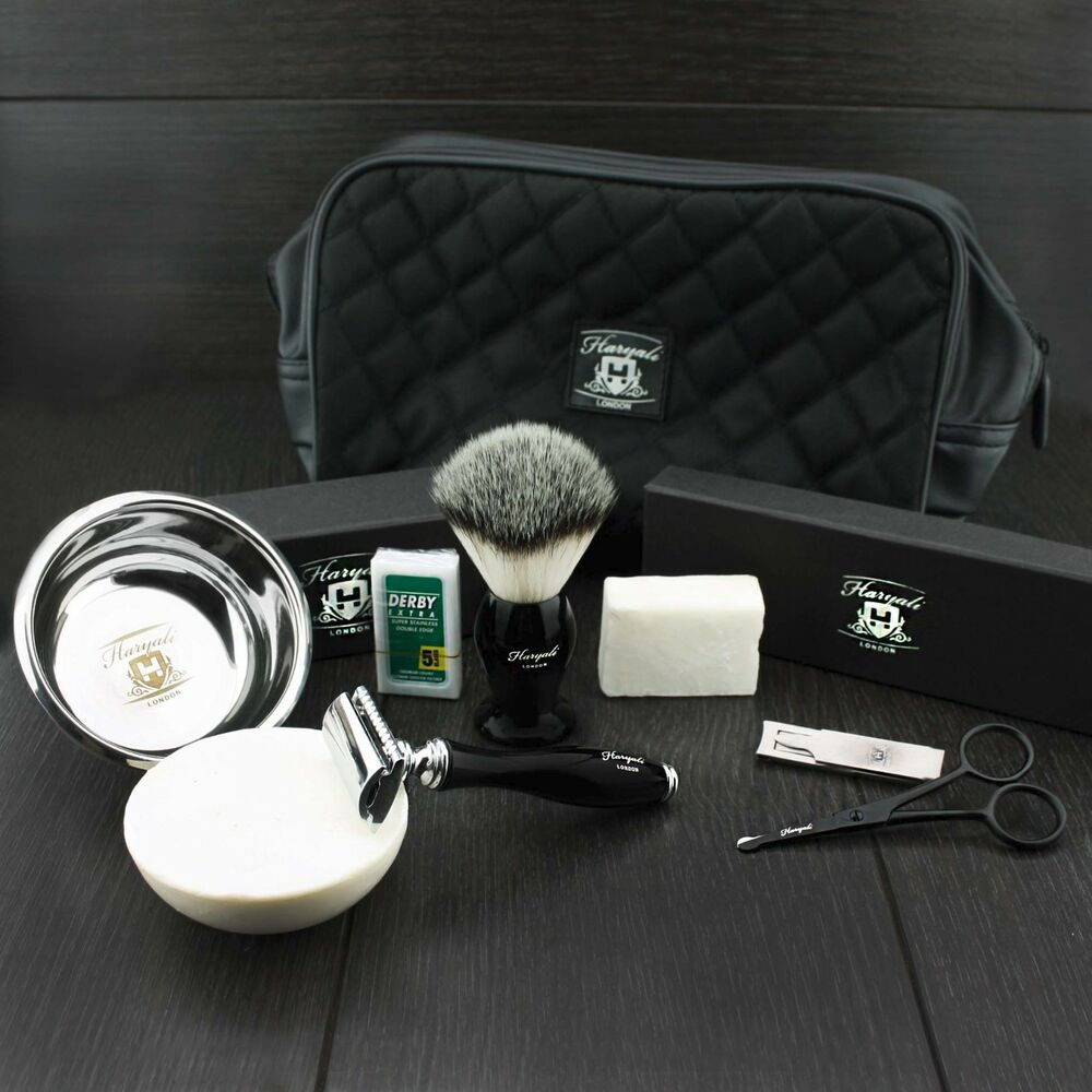 Luxury Complete Traditional Wet Shaving Kit With Safety