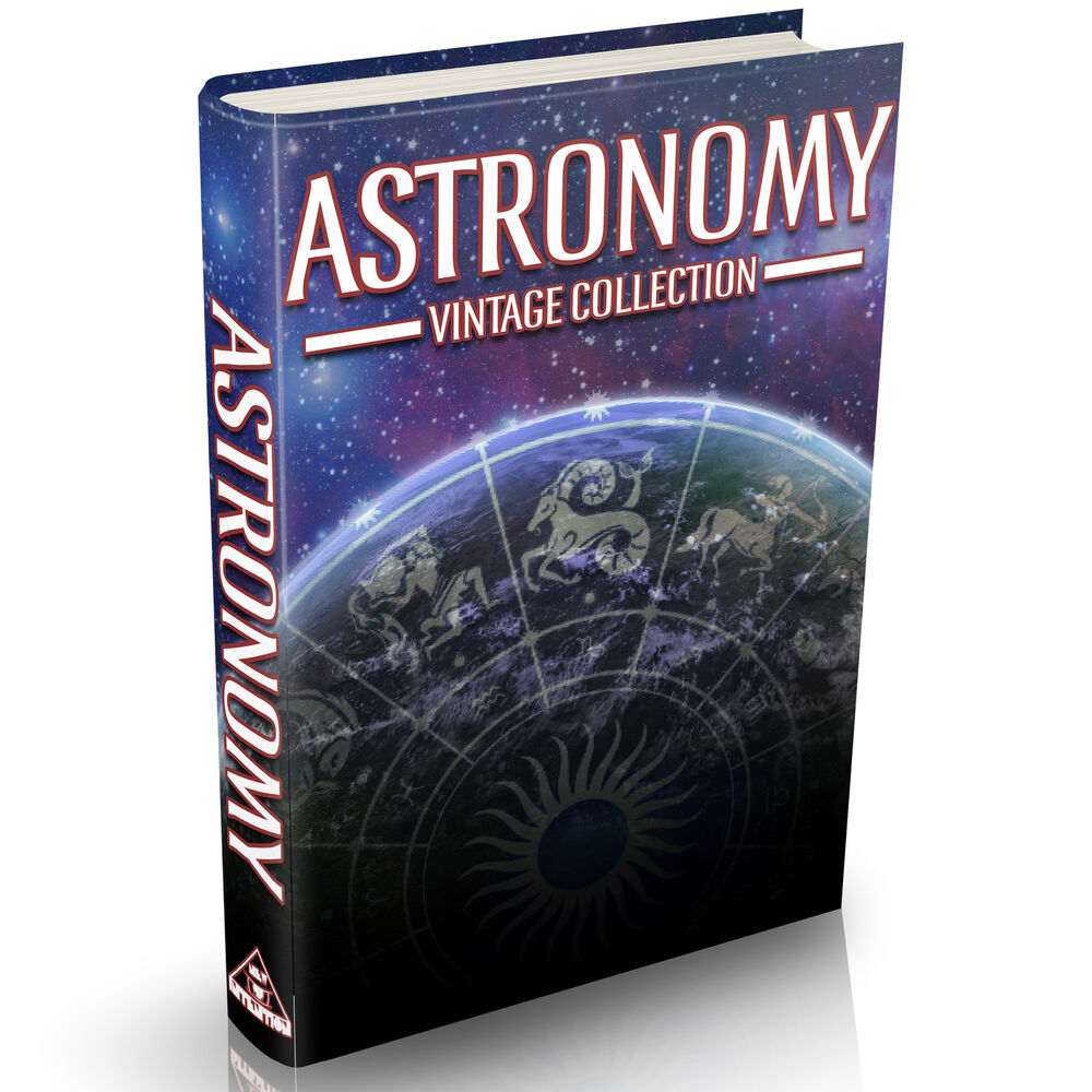 Astronomy Books 112 Old Books on DVD Planets Stars ...