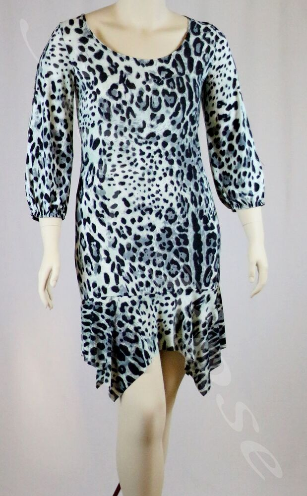 womens clothing animal print dress with a