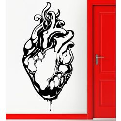 Wall Stickers Vinyl Decal Medical Heart Gothic Grunge Youth Cool Decor (z2297)