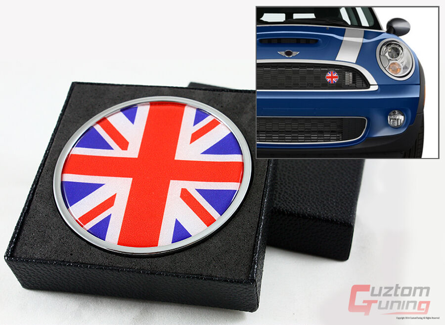 mini cooper s countryman paceman union jack uk flag front. Black Bedroom Furniture Sets. Home Design Ideas