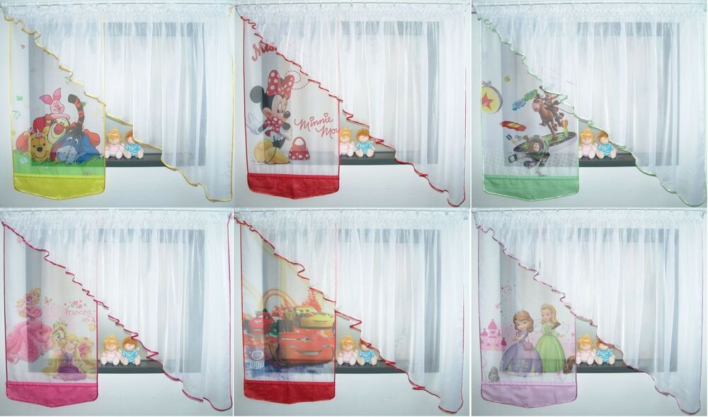 disney winnie pooh gardine kindergardine kinderzimmer gardine baby gardine ebay. Black Bedroom Furniture Sets. Home Design Ideas