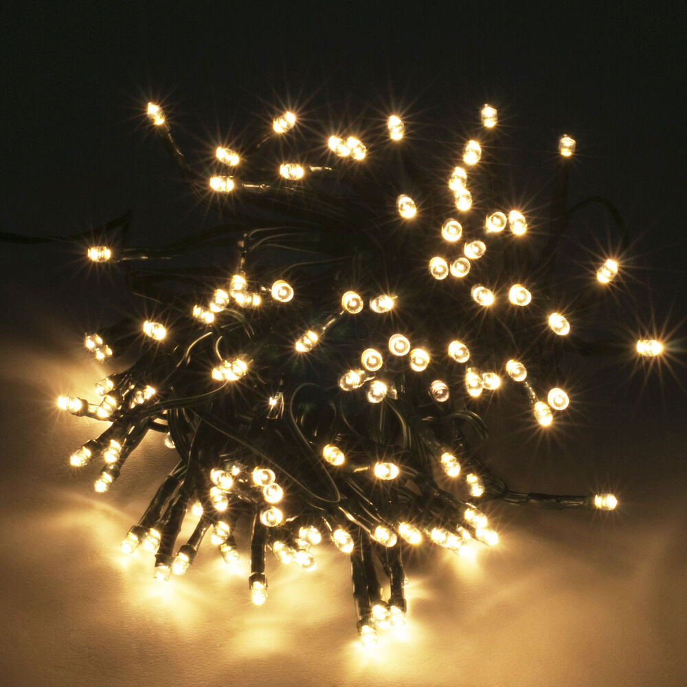Warm White 30M 300 LED Xmas Wedding Outdoor Indoor Fairy String Curtain Light