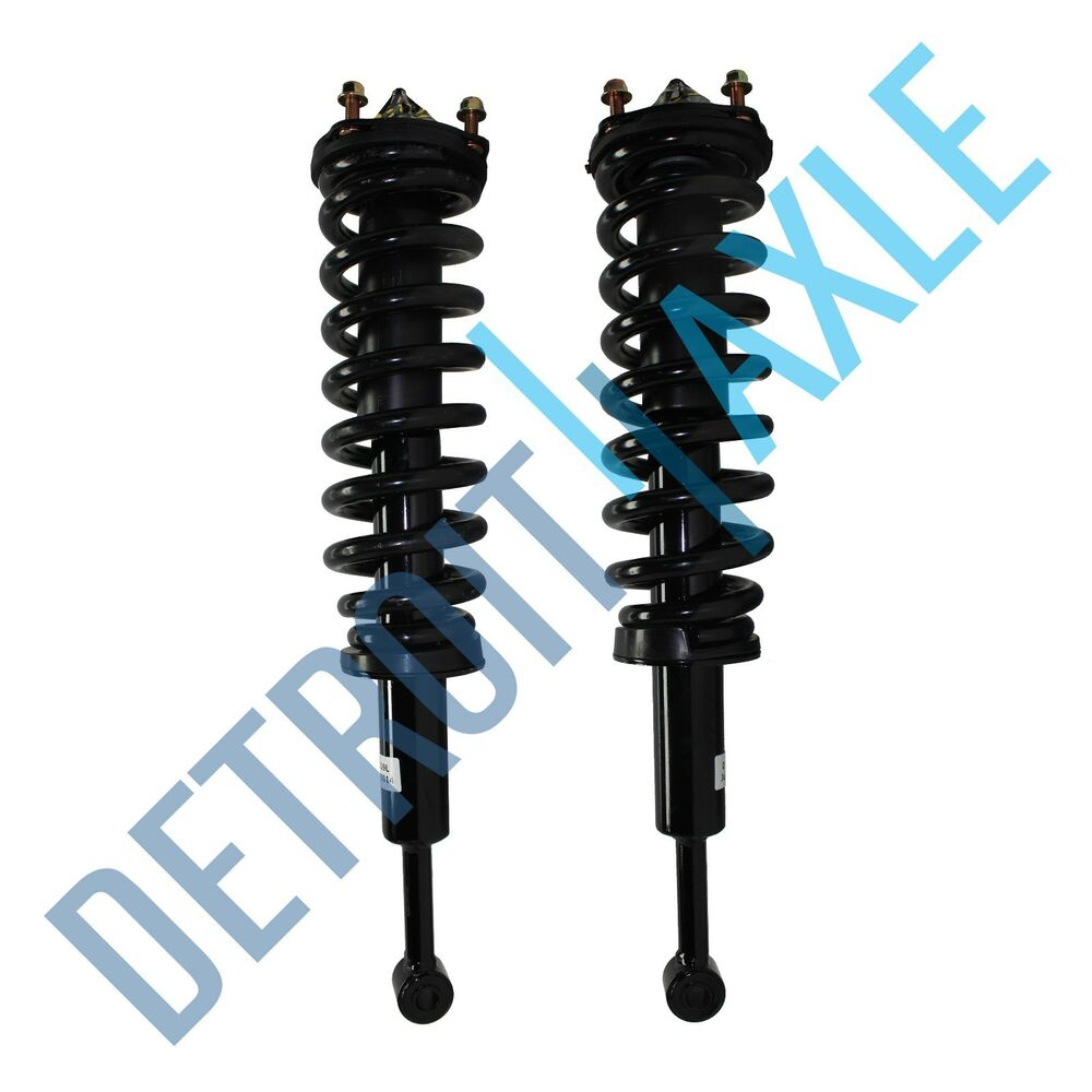 Toyota Tundra Spring Assembly Front Seat Back Right: 2 Front Toyota Tundra 07-10 Quick Complete Struts Shocks