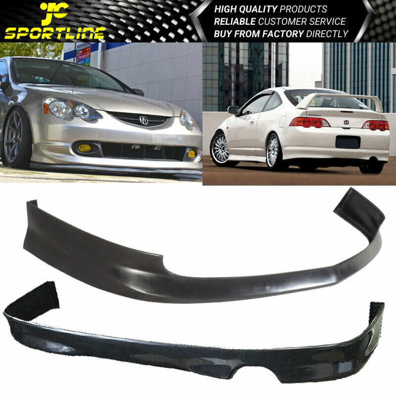 2004 Acura Tl Front Bumper For Sale: Fit 02-04 Acura RSX Coupe 2Door Front&Rear Bumper Lip