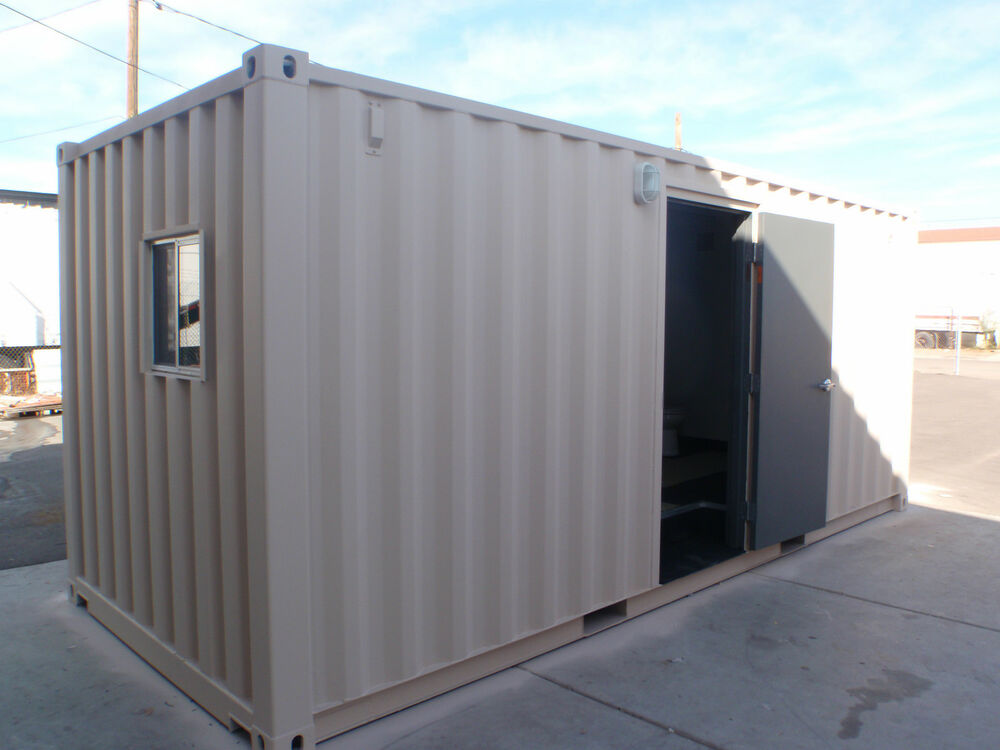 Shower Shipping Container Conex Portable Showers Ebay