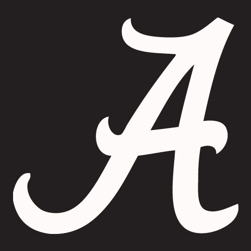 Alabama crimson tide vinyl logo car decal sticker window for Alabama football mural