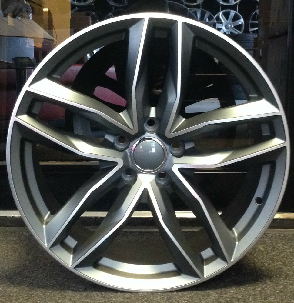 """4 X 19"""" RS5 RS3 RS6 STYLE ALLOY WHEELS FIT AUDI A5 AND A7"""