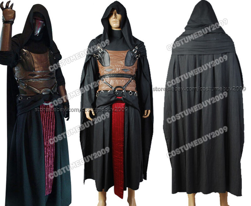 star wars darth revan outfit tunic caperobecloak cosplay