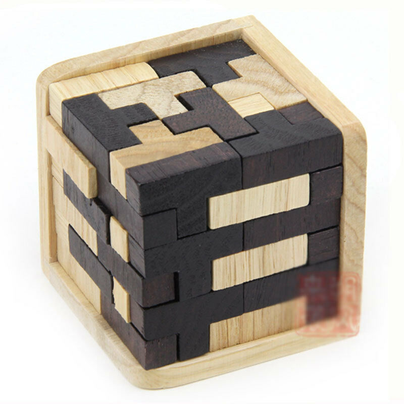 Very Difficulty !!! Zebra 54 T Cube Wood Construction ...