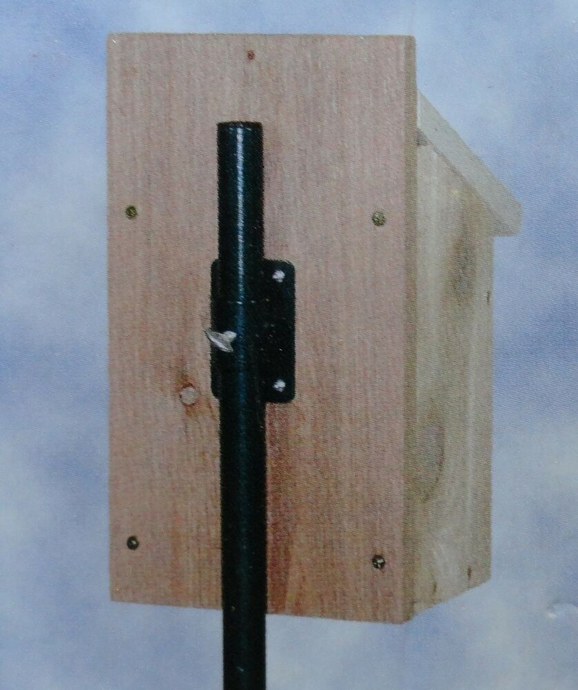 1 pole mounting bracket for bird house or nesting box ebay House brackets