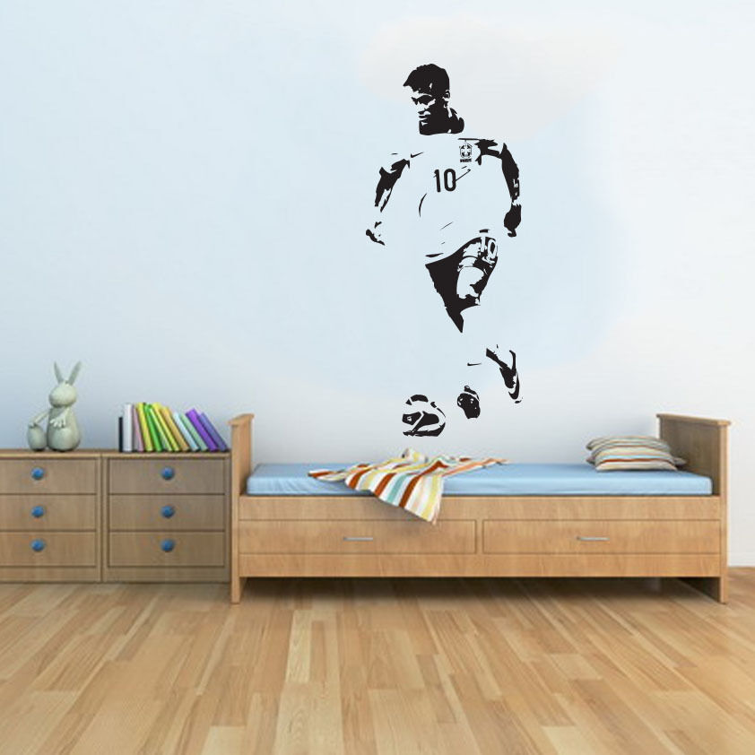 large neymar brazil world cup football soccer free. Black Bedroom Furniture Sets. Home Design Ideas