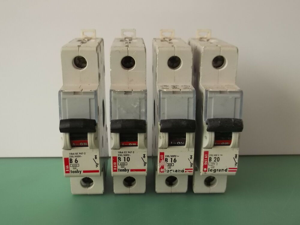 Legrand Tenby Mcb Circuit Breaker Fuse Several Sizes 5a