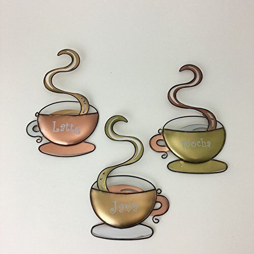 Coffee House Cup Design Mug Latte Java Mocha Metal Wall Art Home Decor New Ebay