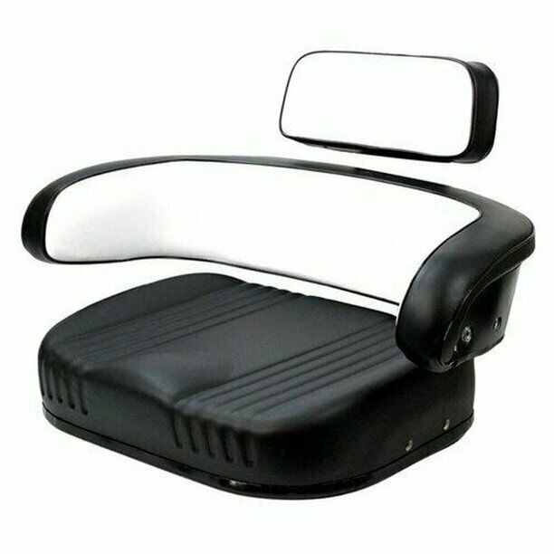 1086 Ih Blac And White : Piece case ih seat assembly black white ebay