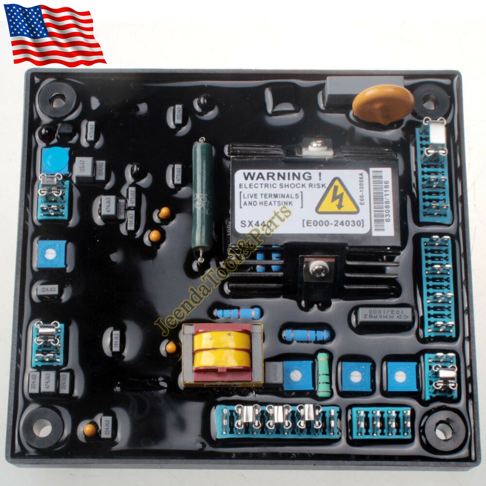 Avr Sx440 Module Automatic Voltage Regulator For Newage