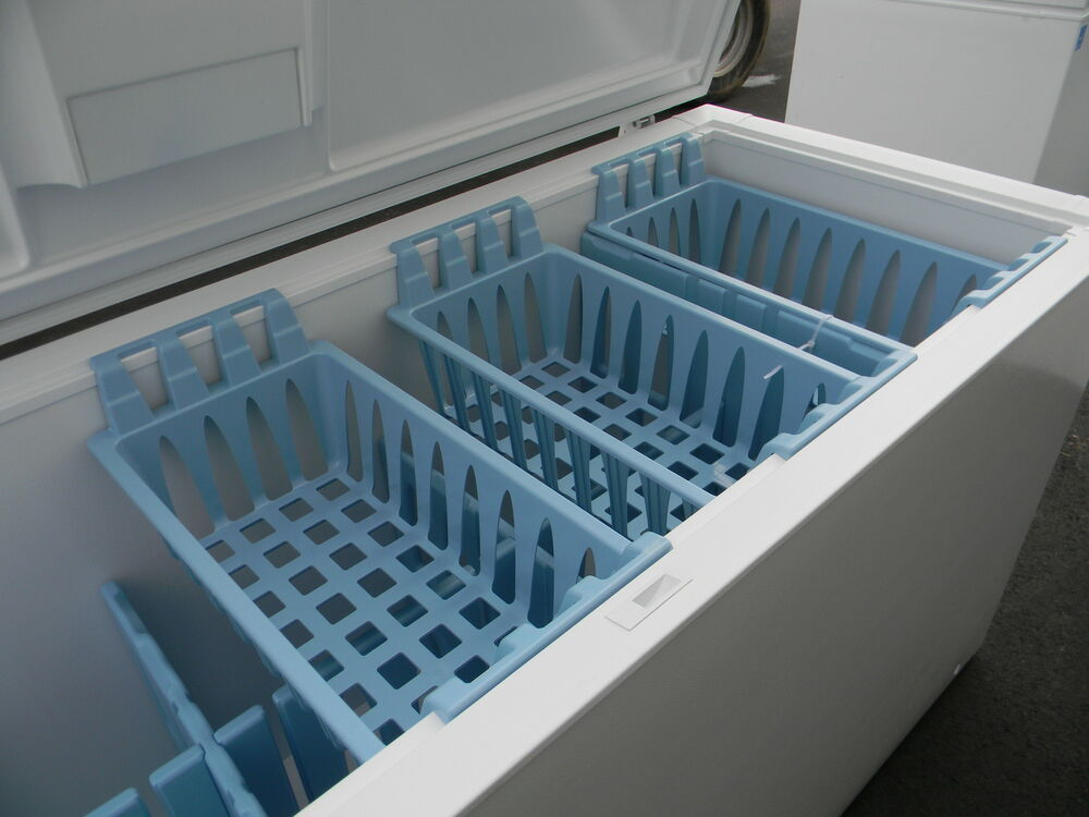 Get 4 Brand New Frigidaire Blue Freezer Storage Baskets Ebay