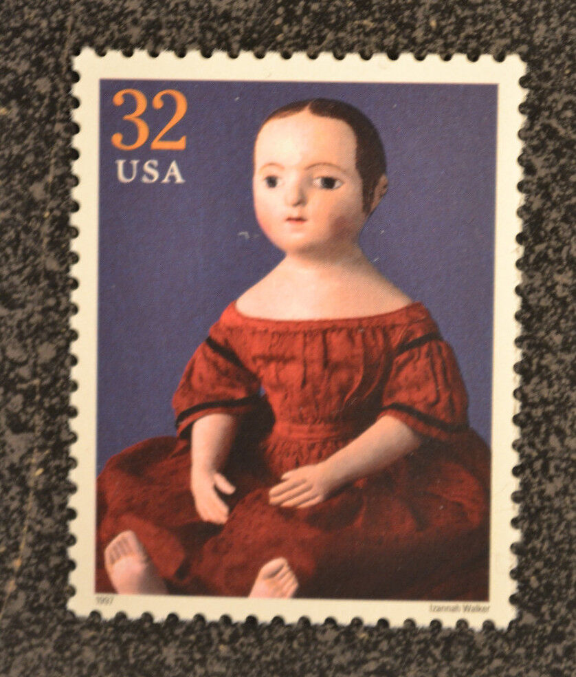 1997usa 3151h 32c classic american dolls stamp by for Classic american