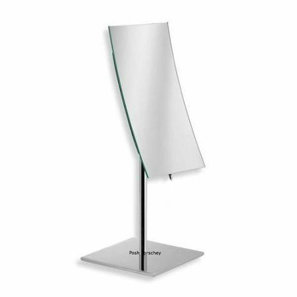 large free standing bathroom mirror bc large chrome magnifying free standing cosmetic 23620