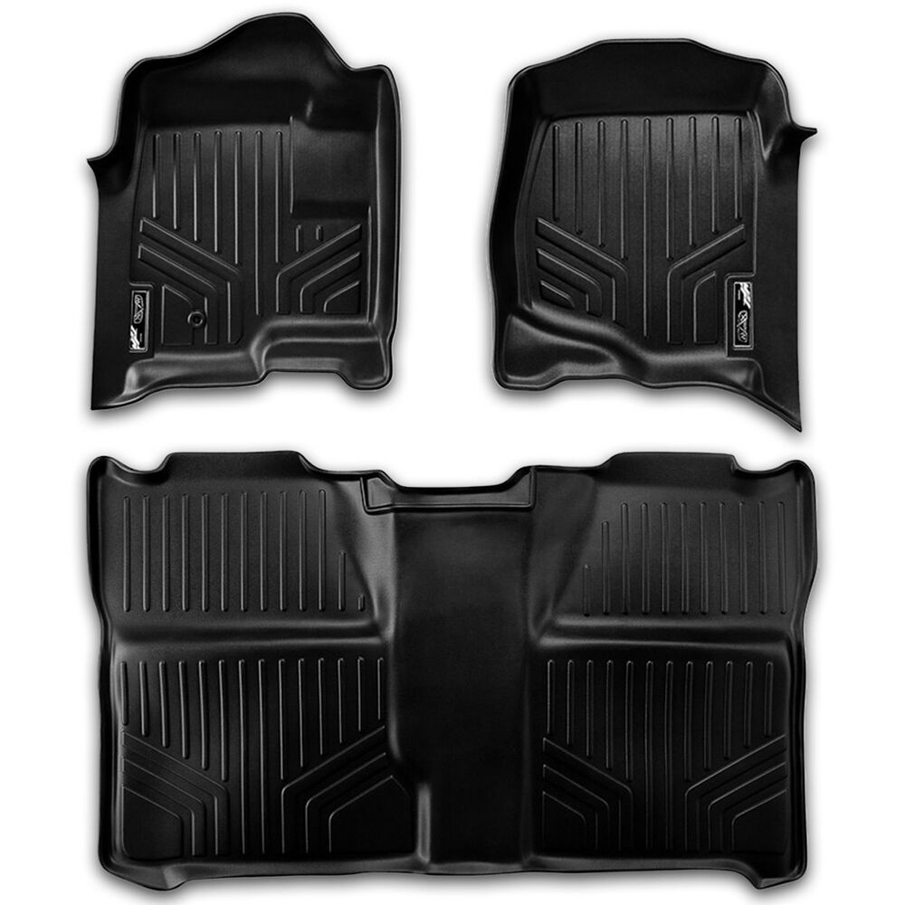 Maxfloormat Custom Fit Front Amp Rear Floor Mats 07 13 Chevy