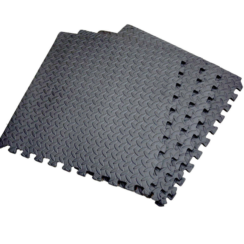 New anti fatigue foam floor covering matting garage mat