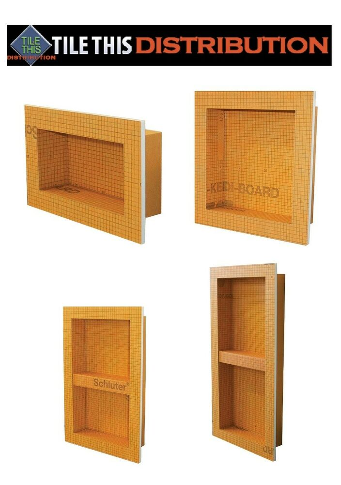 Schluter Kerdi Shower Niche 4 Sizes You Can Pick Ebay